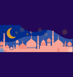 Ramadan kareem happy ramadan greeting card and vector