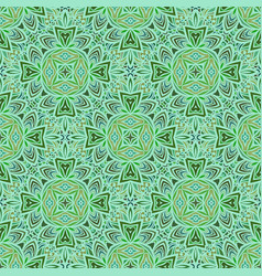 Seamless pattern in moroccan style mosaic tile vector