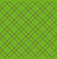 Tartan seamless pattern background to st patricks vector