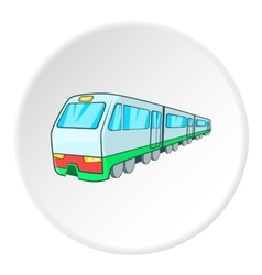 Train icon isometric style vector