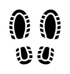 Imprint Shoes vector image