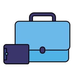 business portfolio design vector image