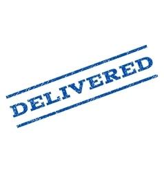 Delivered Watermark Stamp vector