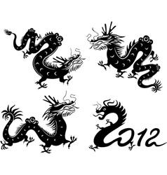 Dragon collection vector