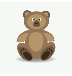 Funny Forest Bear vector image