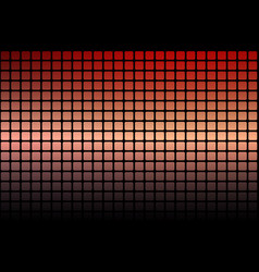 Red orange purple abstract rounded mosaic vector