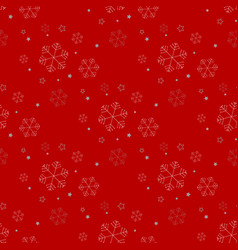 seamless christmas holidays background vector image