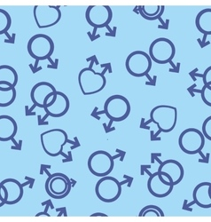 seamless texture male and female gay lesbian vector image