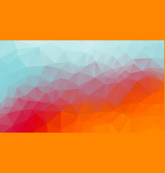 summer geometric background color mosaic vector image