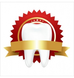 Tooth with guarantee vector