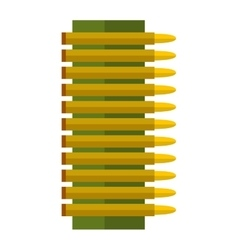 Bullets icons vector image