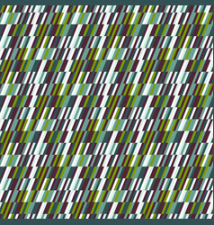 abstract print in op art style vector image