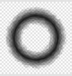 Black hole on transparent background vector