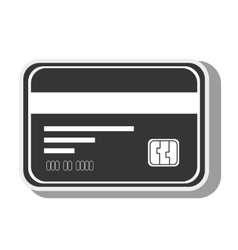 Card money credit debit chip icon graphic vector