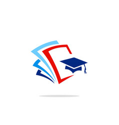 Education college data logo vector