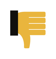 hand with i do not like it vector image