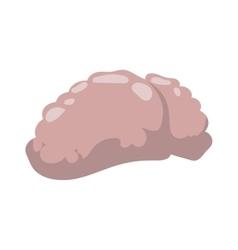 Human sick brain vector