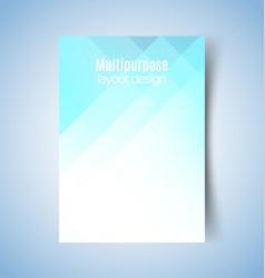 Multipurpose layout design 1 vector