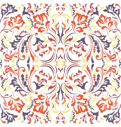 seamless color pattern vector image