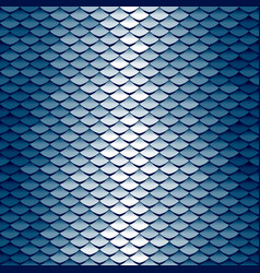seamless scale pattern vector image