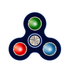 spinner isolated on white background vector image