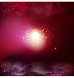 fantastic background with space vector image vector image