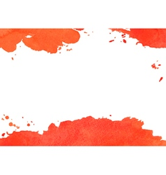 Background with red watercolor spot vector image