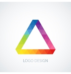 logo Triangle vector image