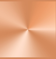 Orange conical gradient vector