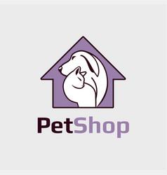 pet shop clinic vector image