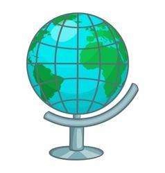 Terrestrial globe icon cartoon style vector image