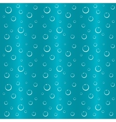 Bubbles in water seamless background vector