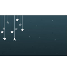 star background style design collection vector image vector image