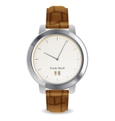 mechanical watch vector image