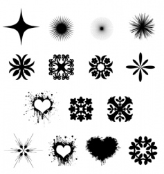 ornaments vector image vector image