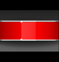 red and gray design template covers vector image vector image