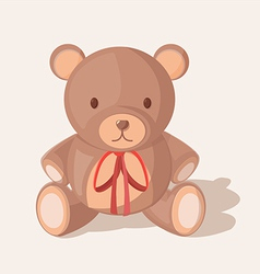 Bear Doll Objects Sweet Cute vector image