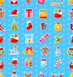 Christmas Holiday Seamless Texture vector