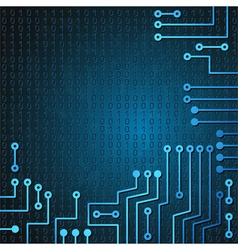 Electronic circuit and binary code vector