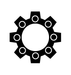 Gear wheels design vector