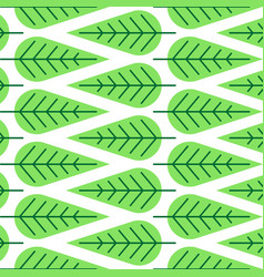 lleaf vein patterns seamless pattern vector image