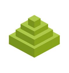 Module brick icon lego piece puzzle icon vector