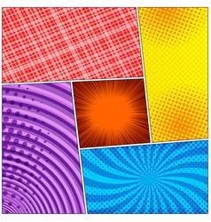 Pop art colorful concept vector