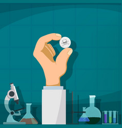 production drugs vector image