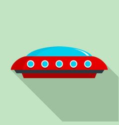 ufo icon flat style vector image
