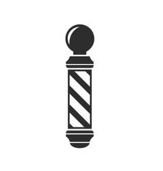 barber shop pole sign vector image