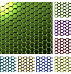 Abstract cell background vector image vector image