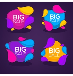 big sale bubbles vector image vector image