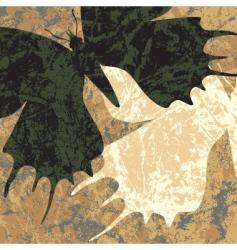 marbled butterflies vector image vector image
