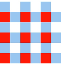 Blue Serenity Red White Chessboard Background vector image